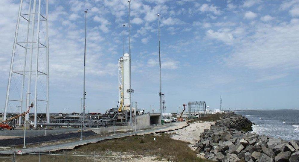 ASV kosmodroms, no kurienes tika palaista Antares raķete