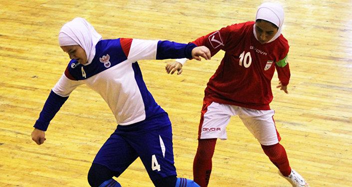 Товарищеский матч женских сборных по мини-футболу Россия - Иран