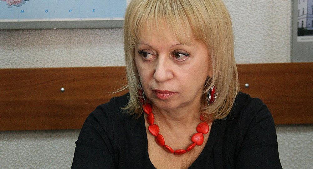 Сотрудница МИА Россия сегодня Элла Таранова