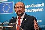 Лидер Социал-демократической партии Германии Мартин Шульц, архивное фото