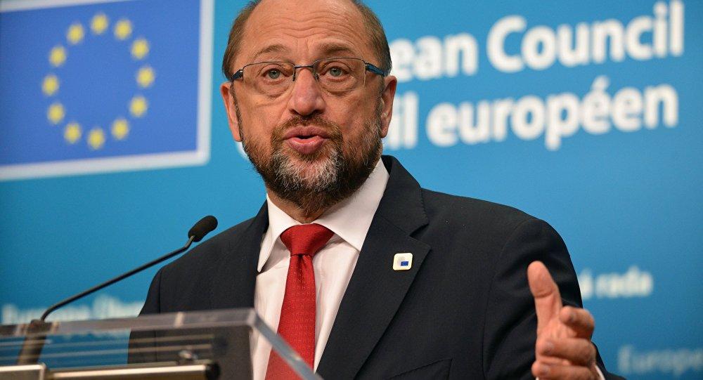 Eiropas Parlamenta prezidents Martins Šulcs. Foto no arhīva