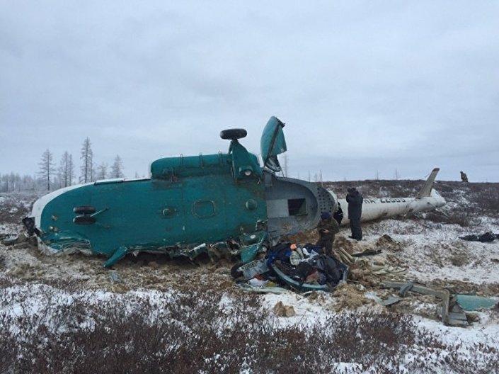 Три человека пострадали в итоге  трагедии  вертолета спассажирами наЯмале— Росавиация