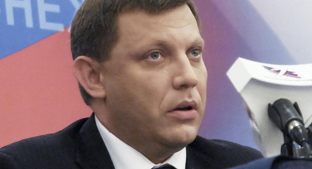 DTR vadītājs Aleksandrs Zaharčenko