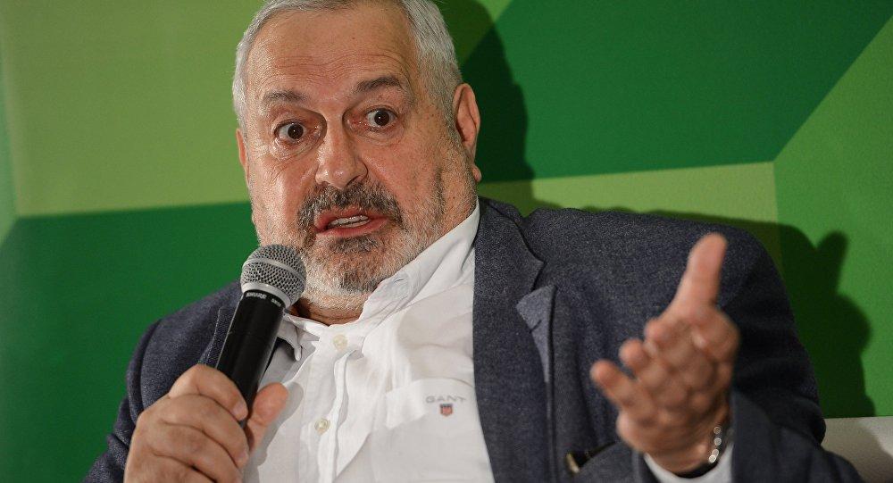 Виталий Дымарский, главный редактор радиостанции Эхо Петербурга, главный редактор журнала Дилетант