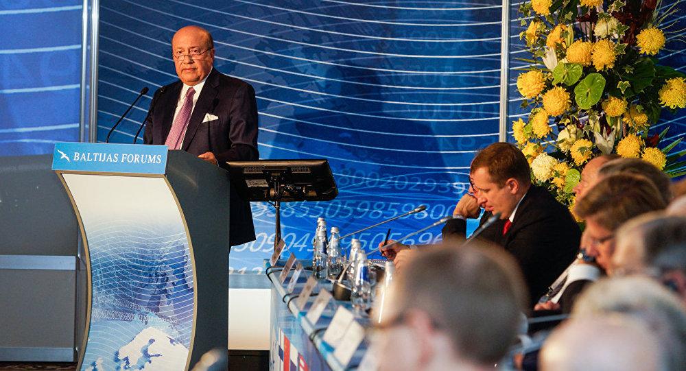 Экс-министр иностранных дел России Игорь Иванов на Балтийском форуме