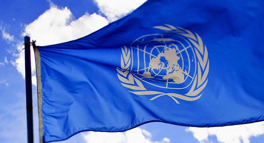 Флаг Организации объединенных наций