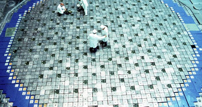 Архивное фото реактора АЭС