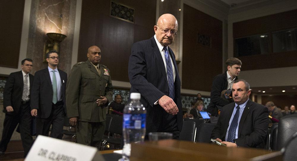 Архивное фото главы национальной разведки США Джеймса Клэппера