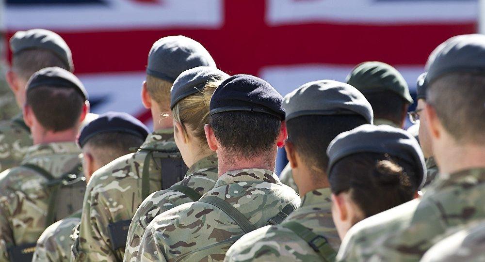 Britu karavīri. Foto no arhīva