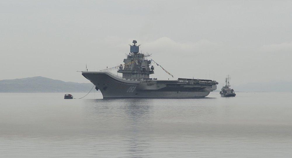 Тяжёлый авианесущий крейсер Адмирал Флота Советского Союза Кузнецов