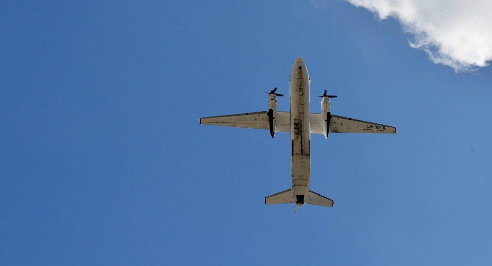 Kara transporta lidmašīna An-26. Foto no arhīva
