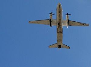 Krievijas GKS militārā transporta lidmašīna An-26