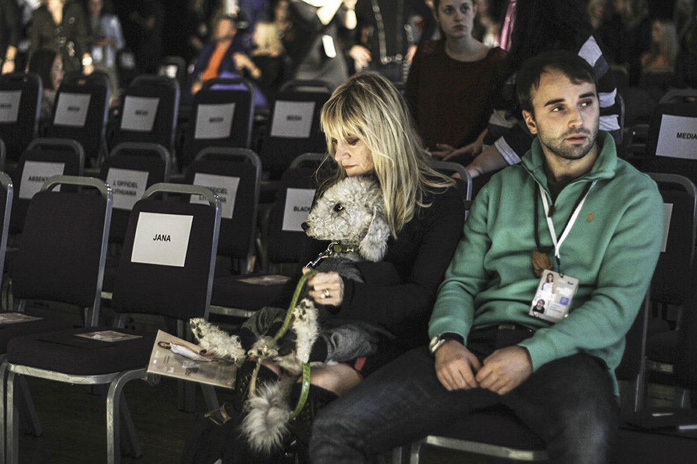 Apmeklētāji Riga Fashion Week