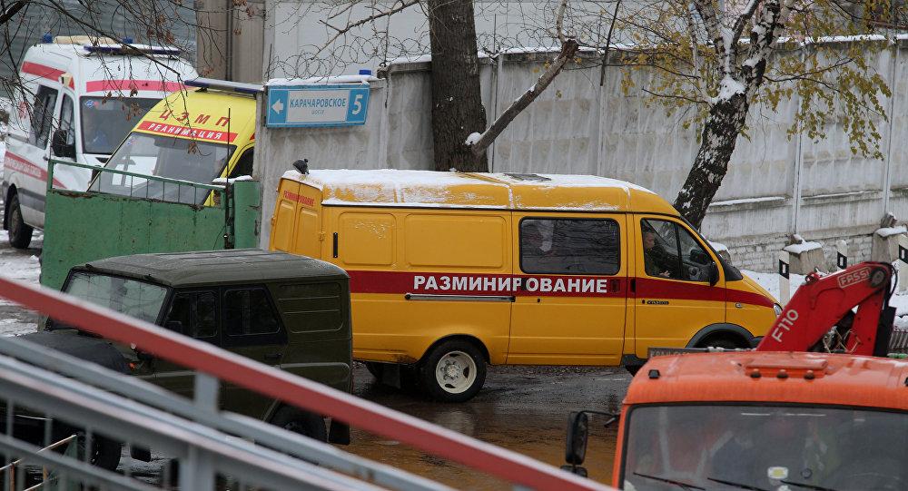 Мины ивзрыватели найдены вгрузовом вагоне настанции Чухлинка в российской столице