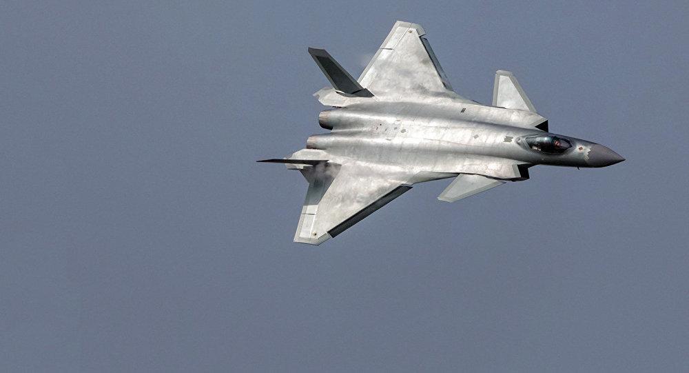 Ķīnas piektās paaudzes iznīcinātājs Chengdu J-20