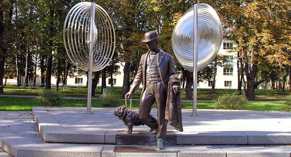 Памятник Павлу Фёдоровичу Дубровину в Даугавпилсе