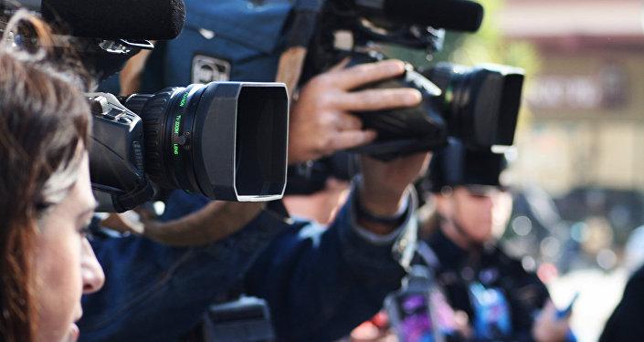 Журналисты, архивное фото