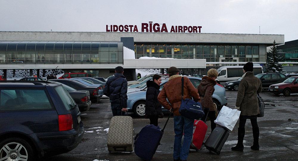 Lidosta Rīga. Foto no arhīva