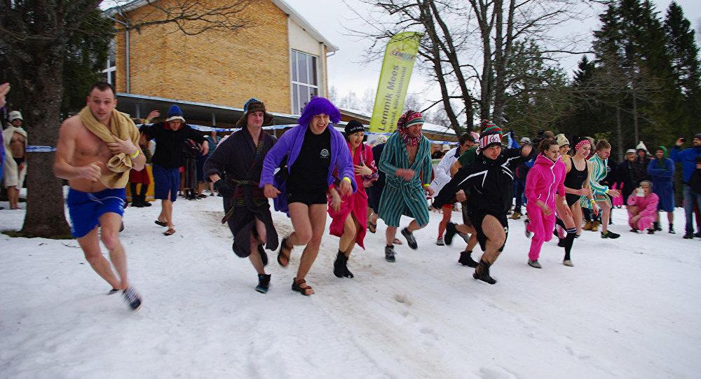 Европейский банный марафон в Отепяэ