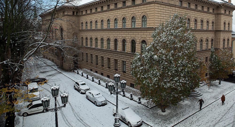 Saeimas ēka. Foto no arhīva