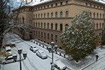 Здание Сейма Латвийской республики, архивное фото