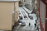 Заснеженные улицы Риги