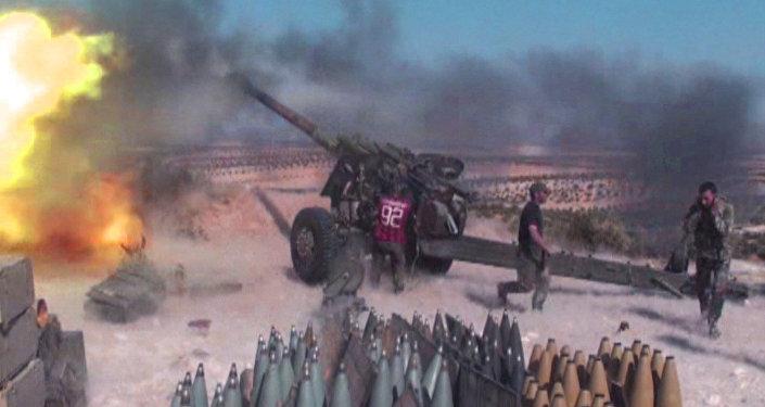 Sīrijas karavīri atvairījuši kaujinieku uzbrukumu Hamas provincē