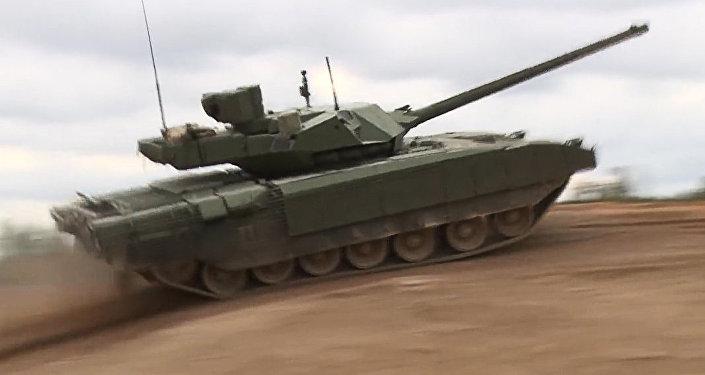 Krievijas jaunā revolucionārā tanka T-14 Armata