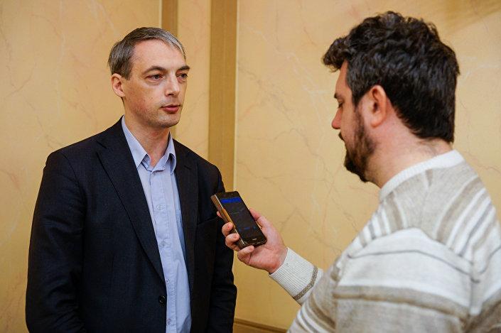 Влад Богов, сопредседатель оргкомитета Дней русской культуры