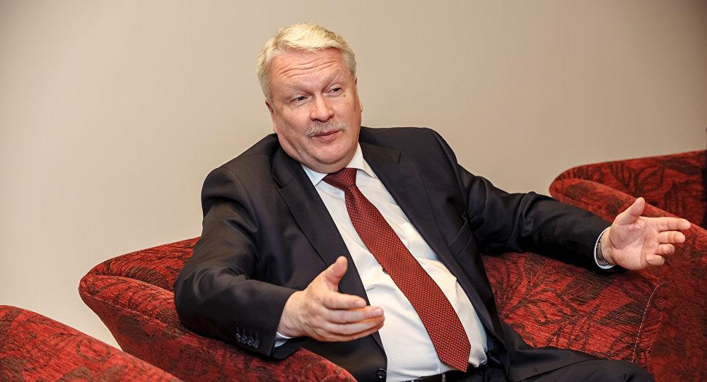 Министр земледелия Латвии Янис Дуклавс