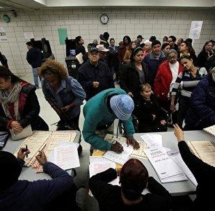 ASV prezidenta vēlēšanas. Foto no arhīva.