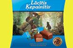 Упаковка латвийских конфет Мишка косолапый