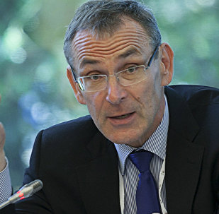 Андрис Пиебалгс министр финансов председатель партии Единство