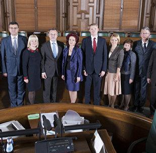 Partijas Vienotība locekļi.