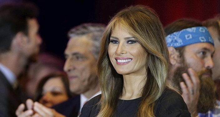 ASV pirmā lēdija Melānija Trampa