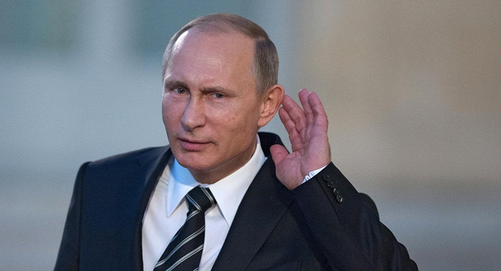 Krievijas prezidents Putins. Foto no arhīva