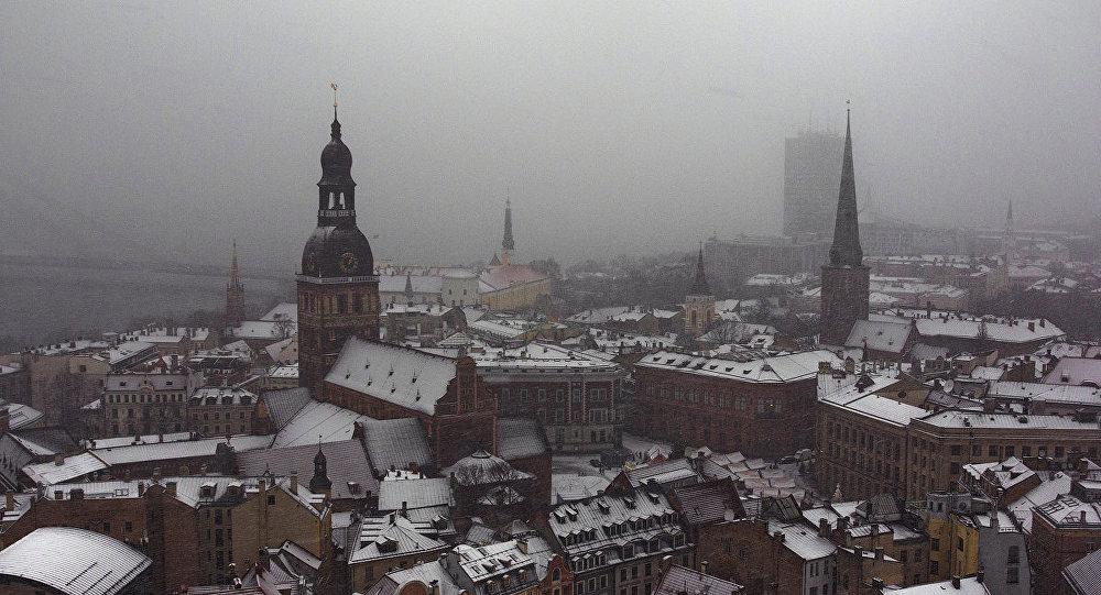 Sniegs Rīgā