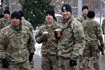 ASV NATO karavīri Latvijā
