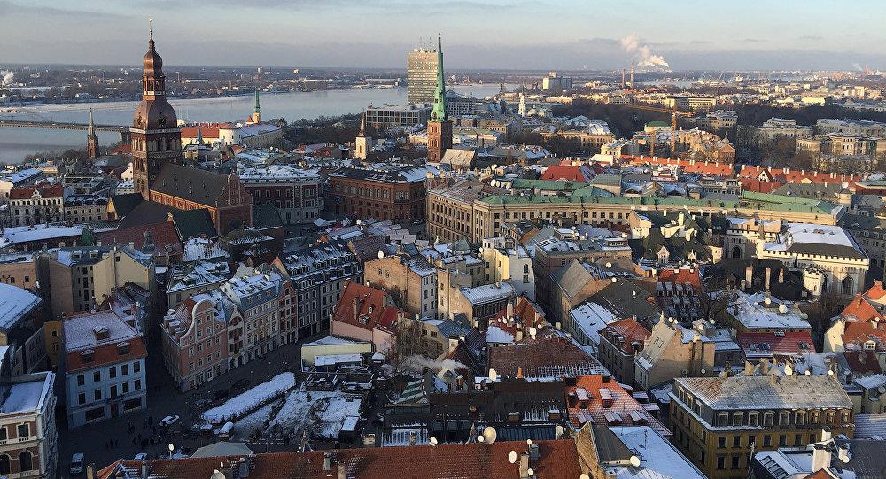 Rīgas panorāma. Foto no arhīva