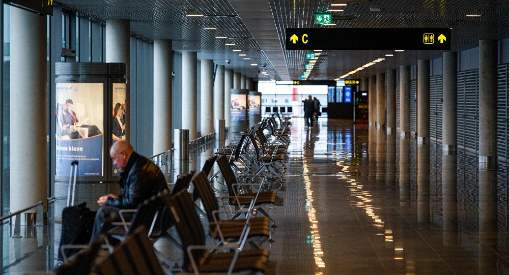 Lidosta Rīga. Ziemeļu piestātne. Foto no arhīva