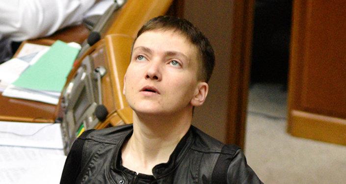 Ukrainas Augstākās Radas deputāte Nadežda Savčenko