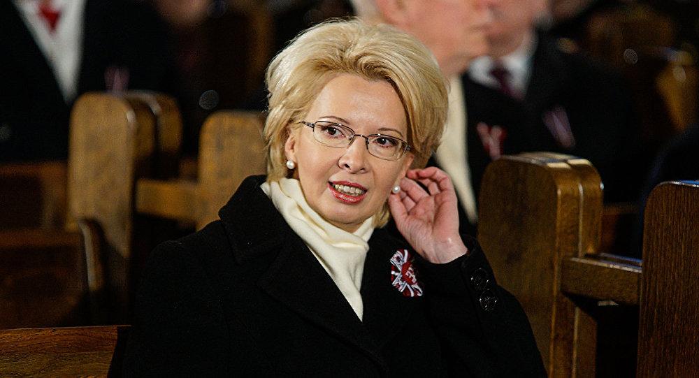 Председатель Сейма Латвии Мурниеце Инара