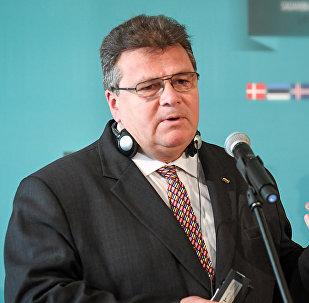 Lietuvas ārlietu ministrs Lins Linkēvičs