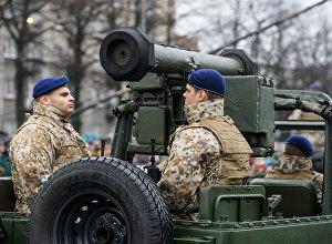 Militārā parāde. Foto no arhīva
