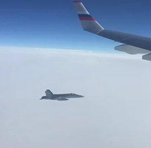 Šveices GKS iznīcinātājs bīstami pietuvojies gaisa kuģim no Krievijas