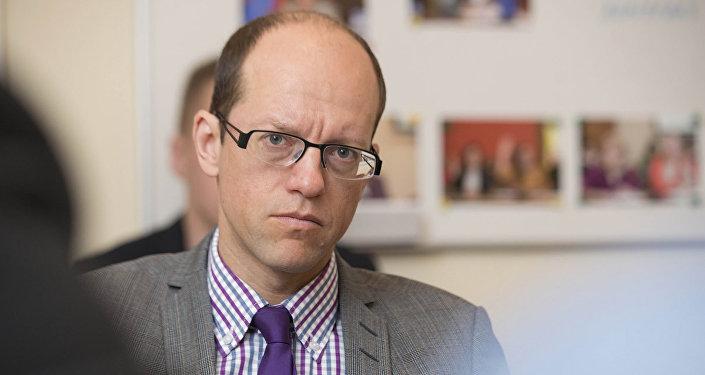 Bijušais Latvijas Komercbanku asociācijas prezidents Mārtiņš Bičevskis