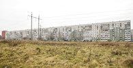 Самый длинный жилой дом в Риге, в народе Большая Китайская стена, 11 подъездов, 396 квартир
