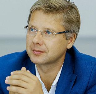 Rīgas mērs Nils Ušakovs. Foto no arhīva
