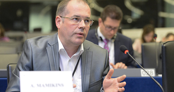 Eiropas Parlamenta deputāts no Latvijas Andrejs Mamikins