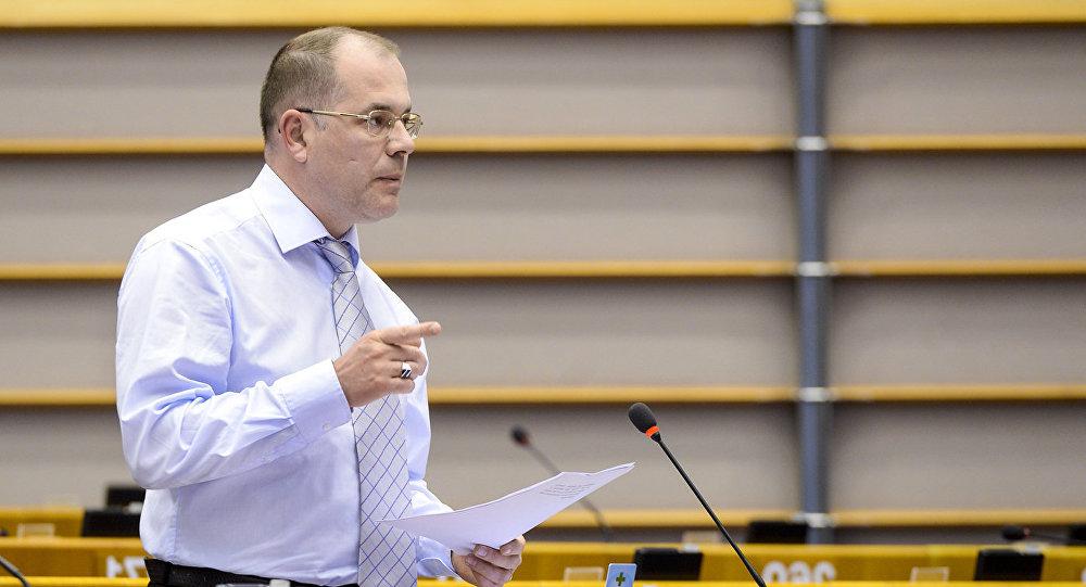 Eiropas Parlamenta deputāts Andrejs Mamikins